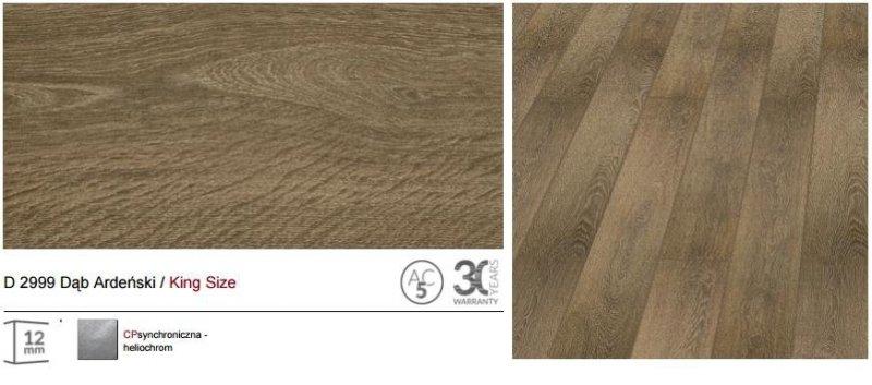 KRONOPOL - panele podłogowe D 2999 Dąb Ardeński / King Size