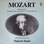 Mozart, Orkiestra Kameralna Wojciecha Rajskiego - Divertimenti: D-dur K.V. 136, B-dur K.V.137, F-dur K.V. 138 (LP)