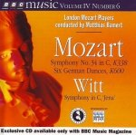 Mozart, Witt, London Mozart Players, Matthias Bamert - Symphony No. 34 In C, K338 / Six German Dances, K600 / Symphony In C, 'Jena' (CD)