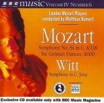 Mozart, Witt, London Mozart Players, Matthias Bamert - Symphony No. 34 In C, K338 / Six German Dances, K600 / Symphony In C, 'Jena' (CD)
