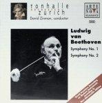 Ludwig van Beethoven - Tonhalle Orchester Zurich*, David Zinman - Symphony No. 1 / Symphony No. 2 (CD)