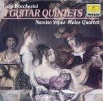 Luigi Boccherini, Narciso Yepes, Melos Quartett - 3 Guitar Quintets (CD)