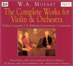 W. A. Mozart - The Complete Works For Violin And Orchestra (3CD)