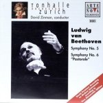 Ludwig van Beethoven - Tonhalle Orchester Zurich, David Zinman - Symphony No. 5 / Symphony No. 6 Pastorale (CD)