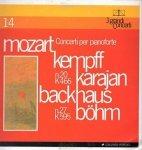 Mozart - Kempff, Karajan, Backhaus, Böhm - Concerti Per Pianoforte: N.20 K 466; N.27 K 595 (CD) (LP)