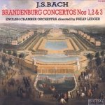 J.S. Bach, English Chamber Orchestra, Philip Ledger - Brandenburg Concertos Nos 1,2 & 3 (CD)