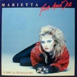 Marietta - Fire And Ice (12 Special Ski Dance Mix) (12'')