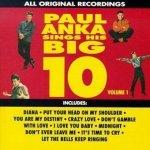 Paul Anka - Paul Anka Sings His Big 10 - Volume 1 (CD)