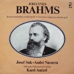 Johannes Brahms - Koncert Podwójny A-Mol Op. 102  Uwertura Tragiczna D-Moll Op. 81 (LP)