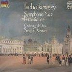 Tschaikovsky, Orchestre De Paris, Seiji Ozawa - Symphony No. 6 In B Minor, Op. 74 Pathetique (LP)