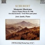 Schubert, Jenö Jandó - Moments Musicaux, Three Piano Pieces D. 946 (CD)