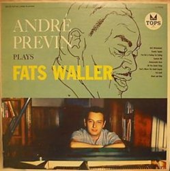 André Previn - Plays Fats Waller (LP)