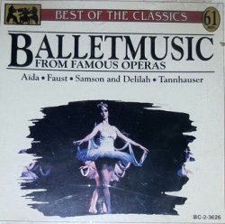 Ballet Music From Famous Operas (CD)