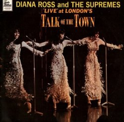 Diana Ross And The Supremes - 'Live' At London's Talk Of The Town (LP)