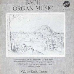 Bach, Walter Kraft - Bach. Organ Music Volume 1 (LP)