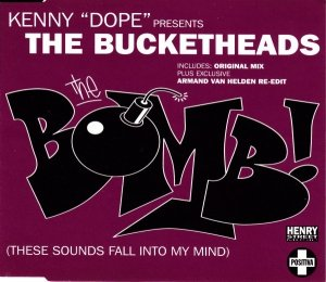 Kenny Dope Presents The Bucketheads - The Bomb! (These Sounds Fall Into My Mind) (Maxi-CD)