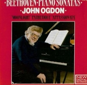 Beethoven, John Ogdon - Piano Sonatas 'Moonlight' 'Pathetique' 'Appassionata' (CD)