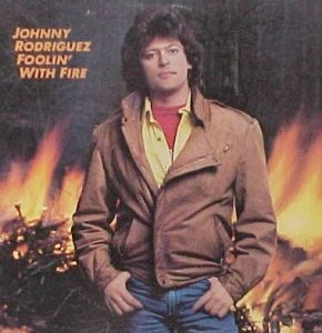 Johnny Rodriguez - Foolin' With Fire (LP)