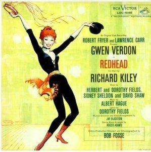 Gwen Verdon, Richard Kiley - Redhead (An Original Cast Recording) (LP)