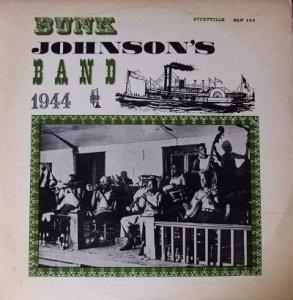 Bunk Johnson's Band - 1944 (LP)