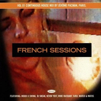 Jerome Pacman - French Sessions Vol 01 (CD)