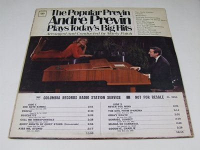 André Previn - The Popular Previn (LP)
