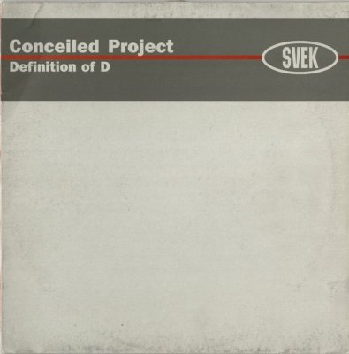 Conceiled Project - Definition Of D (12'')