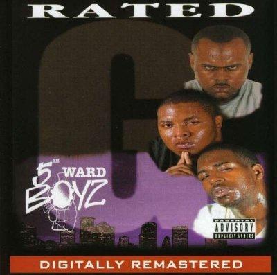 5th Ward Boyz - Rated G (CD)