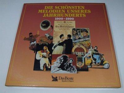 Die Schönsten Melodien Unseres Jahrhunderts 1900-1990 (8LP)