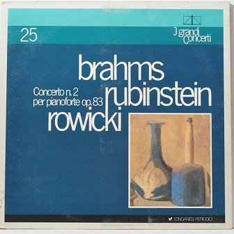 Johannes Brahms, Arthur Rubinstein, Witold Rowicki, The National Warsaw Philharmonic Orchestra - Concerto N.2 Per Pianoforte Op.83 (LP)