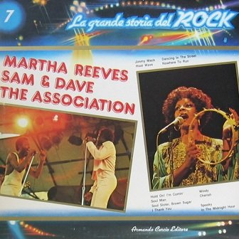 Martha Reeves, Sam And Dave, The Association - Martha Reeves, Sam And Dave, The Association (LP)