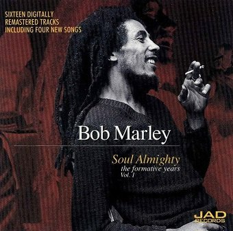 Bob Marley - Soul Almighty - The Formative Years Vol. 1 (CD)