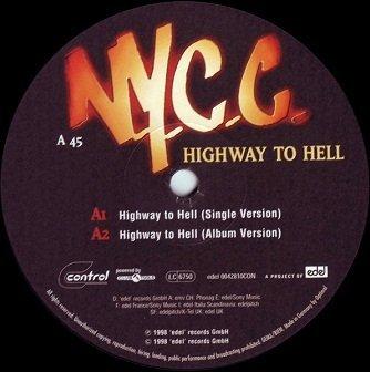N.Y.C.C. - Highway To Hell (12'')