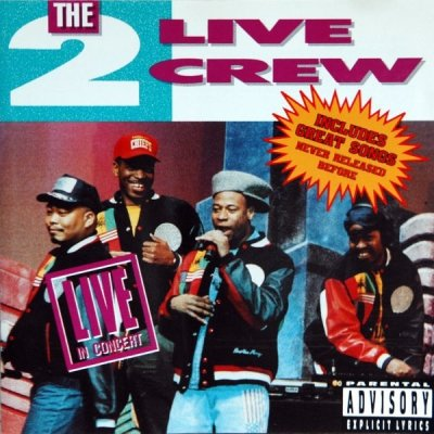 2 Live Crew - Live In Concert (CD)