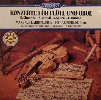 Maxence Larrieu, Pierre Pierlot - Konzerte für Flöte und Oboe (LP)