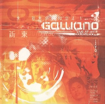 Galliano - Live At The Liquid Room (Tokyo) (CD)