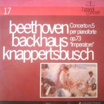 Beethoven, Backhaus, Knappertsbusch - Concerto Nº 5 Per Pianoforte Op. 73 Imperatore (LP)