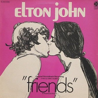Elton John - Friends (Original Soundtrack Recording) (LP)
