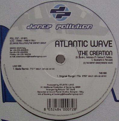 Atlantic Wave - The Creation (12'')