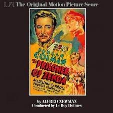 Leroy Holmes - The Prisoner Of Zenda (The Original Motion Picture Score) (LP)