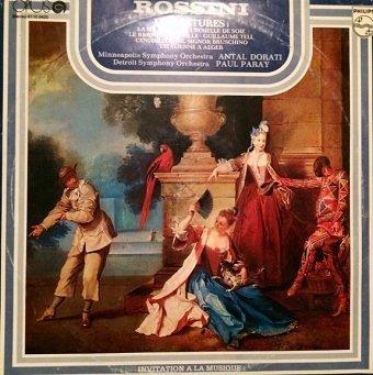 Gioacchino Rossini - Ouvertures / Predohry (LP)