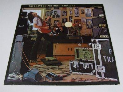 Pat Travers - Putting It Straight (LP)
