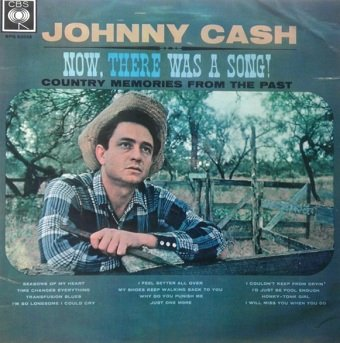 Johnny Cash - Now, There Was A Song! (LP)
