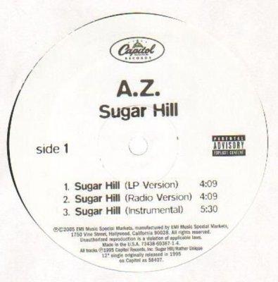 AZ - Sugar Hill (12'')