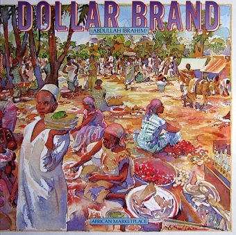 Dollar Brand - African Marketplace (LP)