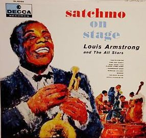 Louis Armstrong And The All Stars - Satchmo On Stage (LP)