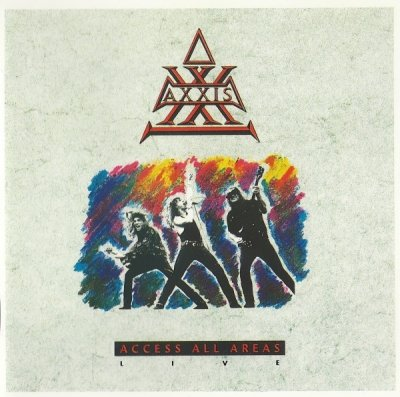 Axxis - Access All Areas - Live (CD)