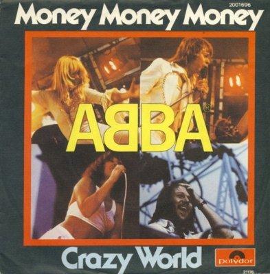ABBA - Money, Money, Money / Crazy World (7)
