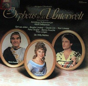 Jacques Offenbach - Orpheus In Der Unterwelt (2LP)
