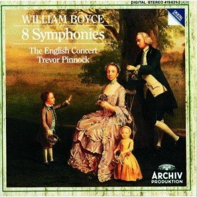 Boyce - The English Concert, Trevor Pinnock - 8 Symphonies (CD)